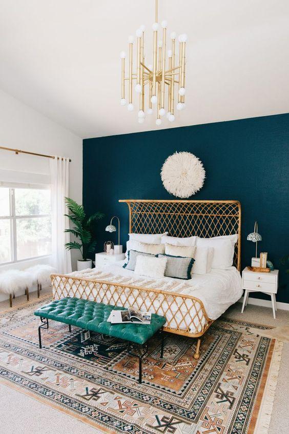 Green-and-Gold-Original-Bedroom